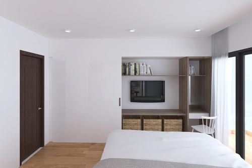 Thiết kế cải tạo lại nhà chung cư cũ đẹp mà rẻ